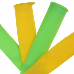 Skub-op-isforme silikone