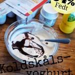 LCHF koldskaalsyoghurt med vaniljemayo